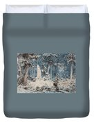 Snowy Forest Duvet Cover