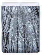 Snowy Forest Duvet Cover