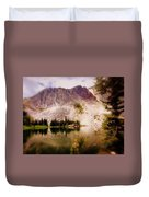 Snowy Mountains Loop 2 Duvet Cover