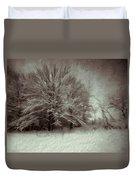 Snowy Treasure Duvet Cover