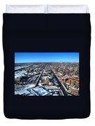 Snowy West Side Winter 2013 Duvet Cover