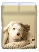 Snuggle Dog Duvet Cover