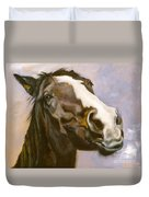 Hot To Trot Duvet Cover