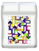 So Many Choices So Little Time Duvet Cover