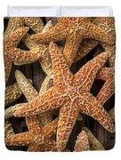 So Many Starfish Duvet Cover