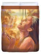 Soaking In Glory Duvet Cover by Tamer and Cindy Elsharouni