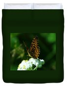 Soaking In The Sun Duvet Cover by Jeff Swan