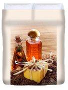 Soap And Fragrance Oils Duvet Cover