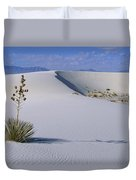 Soaptree Yucca At White Sands Nm Duvet Cover