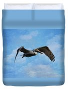 Soaring By Duvet Cover