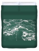 Soaring Over The Falls Waters Duvet Cover