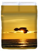 Soaring With Confidence Duvet Cover