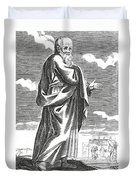 Socrates, Ancient Greek Philosopher Duvet Cover