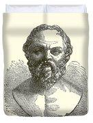 Socrates Duvet Cover