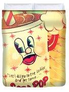 Soda Pop Duvet Cover