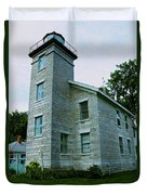 Sodus Point Lighthouse Duvet Cover