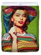Sofia Loren Duvet Cover