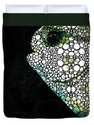 Sofishticated - Fish Art By Sharon Cummings Duvet Cover