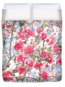 Soft Colors Of Spring Duvet Cover