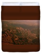 Soft Early Morning Light Over The Grand Canyon 3 Duvet Cover