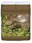 Florida Soft Shelled Turtle - Apalone Ferox Duvet Cover