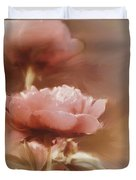 Soft Flower Digital Painting Duvet Cover