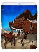 Soft Grand Piano Se 2 Duvet Cover by Mike McGlothlen