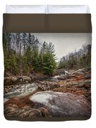 Soft Maple Water Fall Duvet Cover