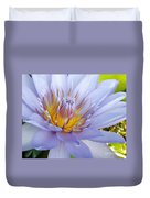 Soft Mauve Waterlily Duvet Cover