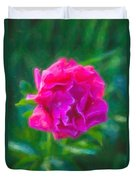 Soft Pink Peony Duvet Cover