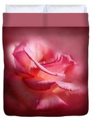 Soft Pink Rose Duvet Cover