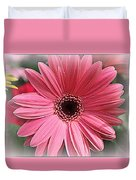 Softly In Pink - Zinnia Duvet Cover