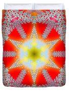 Solar Lava Duvet Cover