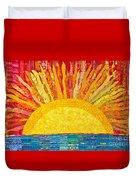 Solar Rhythms Duvet Cover by Susan Rienzo