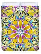 Solar Sunstar Duvet Cover by Derek Gedney