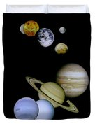 Solar System Montage Duvet Cover