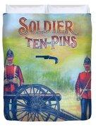 Soldier Ten-pins Duvet Cover