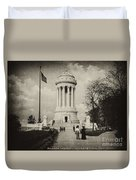 Soldiers Memorial - Ny - Toned Duvet Cover