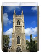 Soldiers Tower 4 Duvet Cover