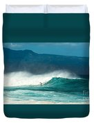 Sole Surfer Duvet Cover
