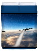 Wounded Warrior - Pastel Duvet Cover