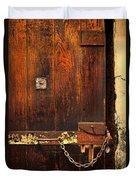 Solitary Confinement Door Duvet Cover