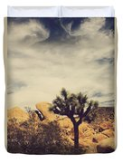 Solitary Man Duvet Cover by Laurie Search