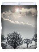 Solitude Of Coldness Duvet Cover