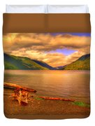 Solitude On Crescent Lake Duvet Cover