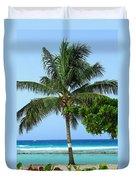Solo Palm Duvet Cover