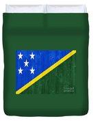 Solomon Islands Flag Duvet Cover
