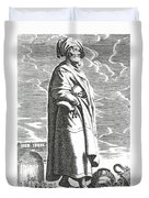 Solon Of Athens, Sage Of Greece Duvet Cover