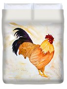 Some Days You Have To Paint A Rooster Duvet Cover