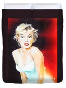 Some Like It Red Hot Duvet Cover